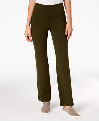 Style&Co. Style & Co Petite Tummy-Control Bootcut Yoga Pants, Created for Macy's