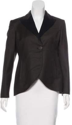 Stella McCartney Wool High-Low Blazer