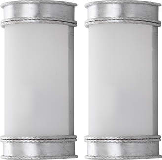 Safavieh Florence Set Of 2 1-Light Wall Sconces