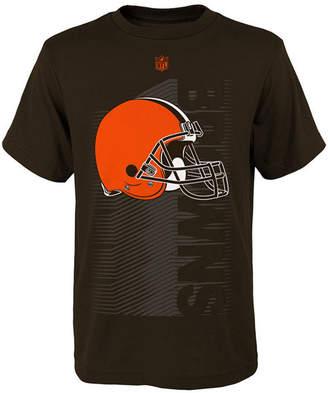 Outerstuff Cleveland Browns Poly Jump Speed T-Shirt, Big Boys (8-20)