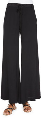XCVI Windy Ghost Wide-Leg Pants $145 thestylecure.com