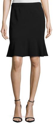 T Tahari Ruffled-Hem Skirt $69 thestylecure.com