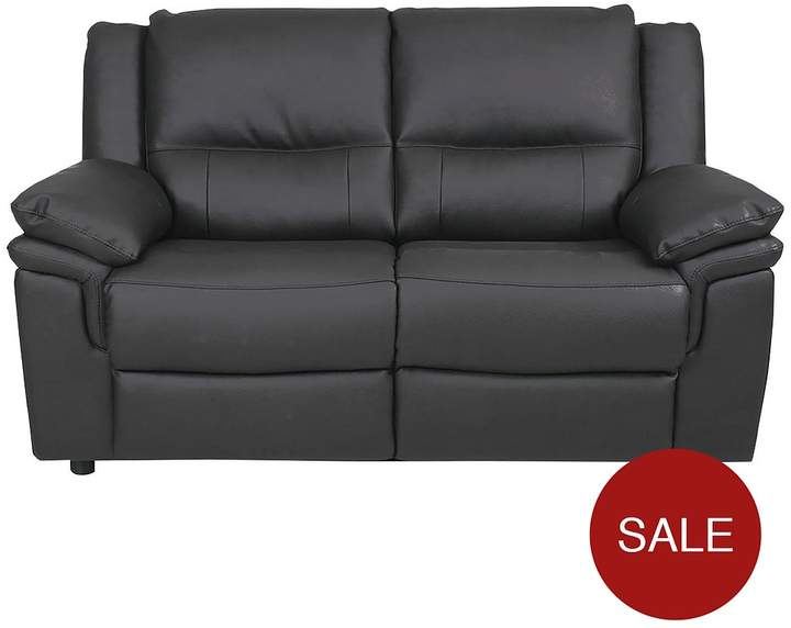 Albion Luxury Faux Leather 2 Seater Sofa