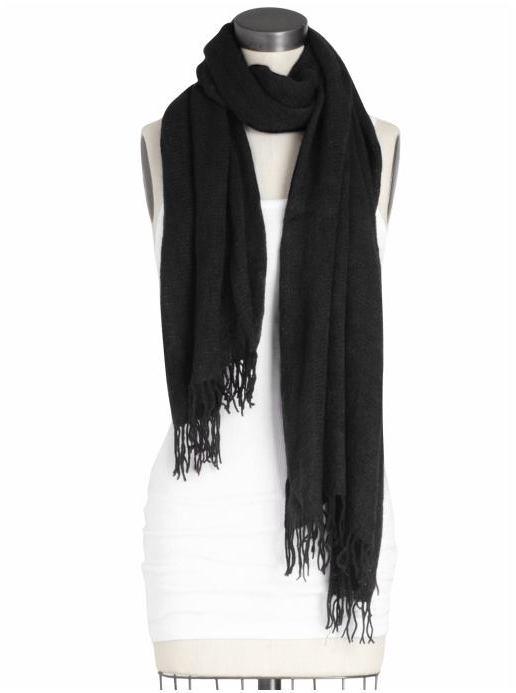 Line Knitwear Betty Solid Scarf