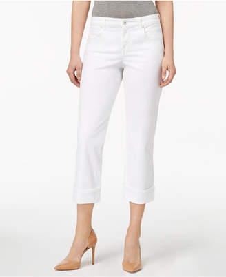 Style&Co. Style & Co Curvy Cuffed Capri Jeans in Regular & Petite Sizes