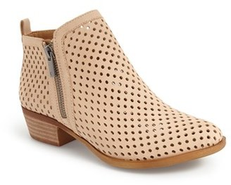 Women's Lucky Brand 'Basel' Perforated Bootie $138.95 thestylecure.com