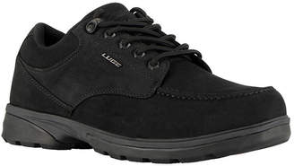Lugz Mens Stack Lo Water Resistant Slip Resistant Work Boots Lace-up