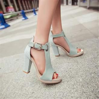 Ladiamonddiva Sandals 2017 Fashion Summer Pumps Sexy Peep Toe Women's High Heels 3 Color Platform Shoes Woman T-Strap Shoes Sandals 7.5