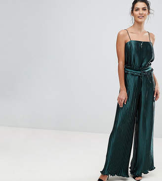 Finders Keepers Finders Pleated Exclusive Wide Leg Two-Piece PANTS