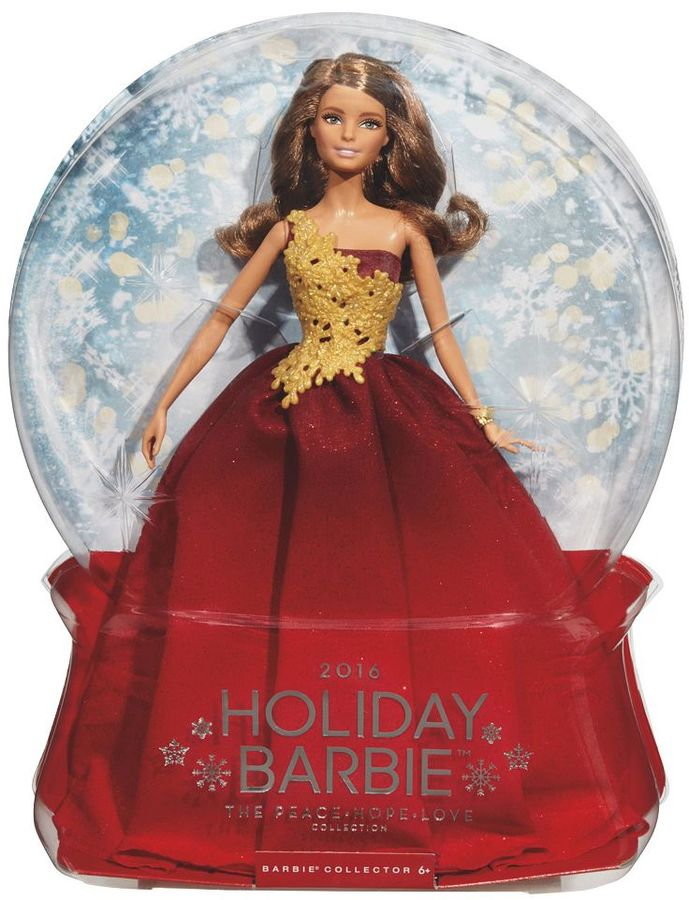 Barbie Barbie 2016 Holiday Barbie Doll - Red