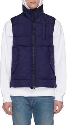 Stone Island Crinkle Reps nylon down puffer vest