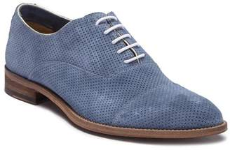 Gordon Rush Distressed Cap-Toe Oxford