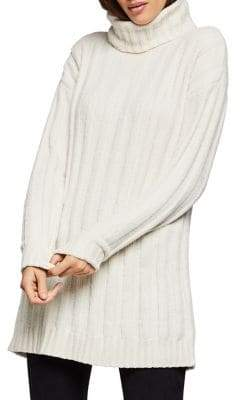 BCBGeneration Ribbed Turtleneck Tunic