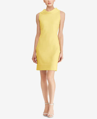 American Living Cowl-Neck Sheath Dress