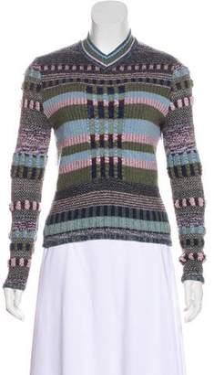 Christian Lacroix Abstract Crew-Neck Sweater