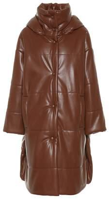 Nanushka Eska faux leather coat