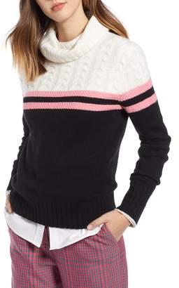 1901 Colorblock Turtleneck Sweater