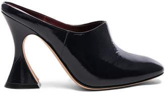 Sies Marjan Patent Leather Elisa Mules