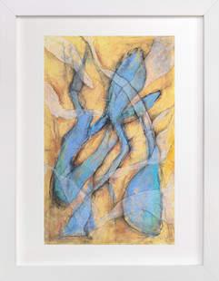 Blue Aurelius Art Print