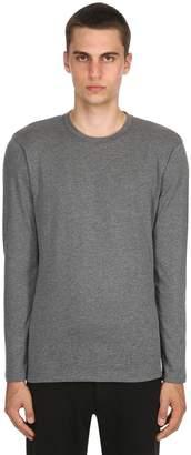 Fine Cotton Cashmere Long Sleeve T-Shirt