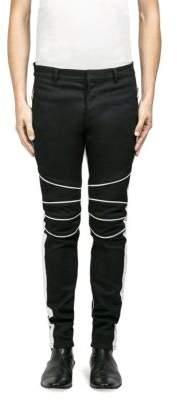 Balmain Classic Moto Skinny Jeans