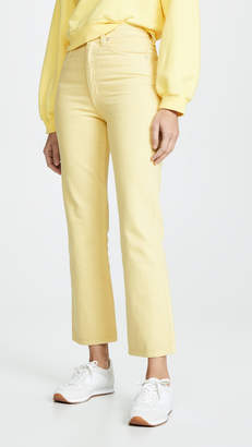 A Gold E Agolde High Rise Kick Jeans