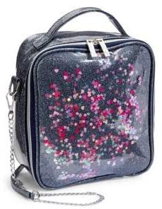 Bari Lynn Girl's Glitter Lunch Box