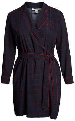1901 Plaid Shirtdress