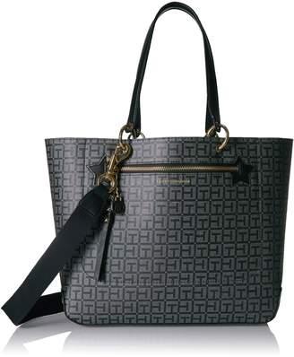 Tommy Hilfiger Bag, Item Travel Tote Bag for Women, Black Tote Bag