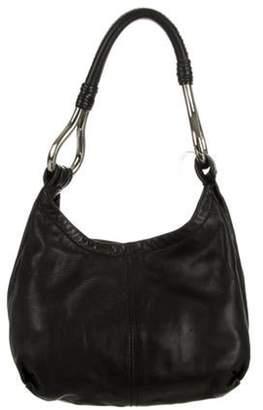 Prada Nappa Leather Hobo Black Nappa Leather Hobo