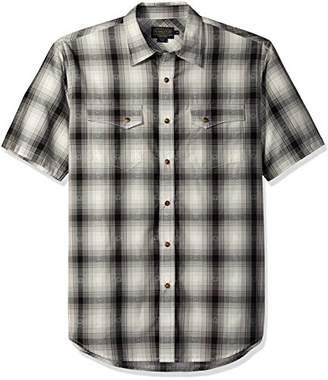Pendleton Men's Short Sleeve Dressy Western Shirt
