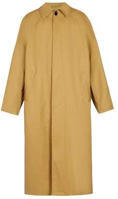 Balenciaga Oversized Trench Coat - Mens - Beige
