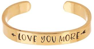 Alisa Michelle Gold Love Your More Cuff