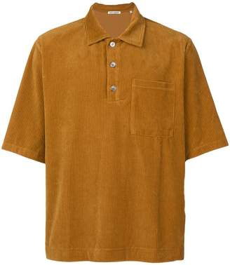 Our Legacy corduroy polo shirt