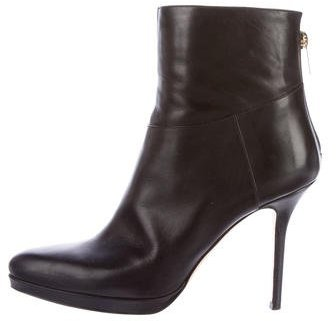 Jimmy Choo Jimmy Choo Action Leather Ankle Boots