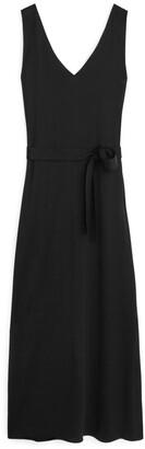 Arket V-Neck Jersey Dress