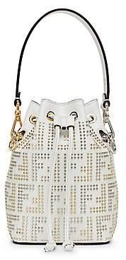 Fendi Women's Mon Tresor FF Micro Studded Bucket Bag