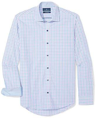 Buttoned Down Men's Slim Fit Spread-Collar Supima Cotton Sport Shirt