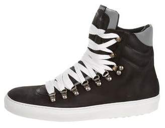 DSQUARED2 Round-Toe Hiking Sneakers