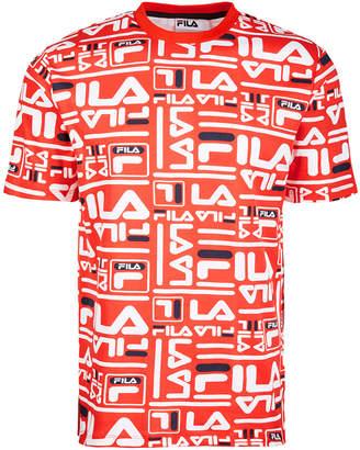 Fila Men's Charlie Logo-Print T-Shirt