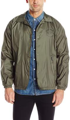 HUF Men's Bundy Coachs Jacket