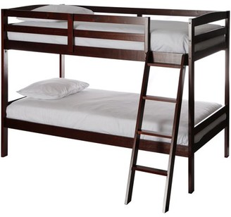Dream On Me Taylor Twin over Twin Bunk Bed, Cherry