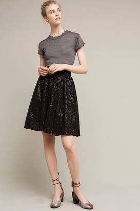 Eri + Ali Night Shimmer Skirt $148 thestylecure.com