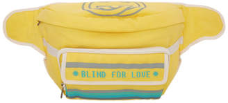 Gucci Yellow Blind For Love Pouch
