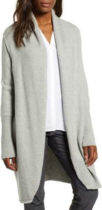 Chaus Shawl Collar Cotton Blend Cardigan