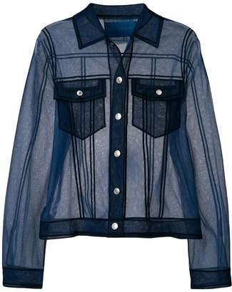 Viktor & Rolf sheer shirt-like top