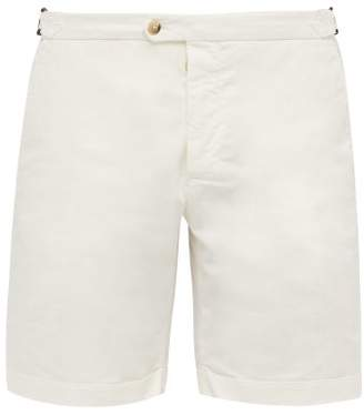 9db5a909d Free Delivery! FREEDEL at MATCHESFASHION.COM · BEIGE Thom Sweeney -  Tailored Cotton Blend Bermuda Shorts - Mens