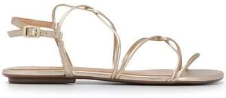 Schutz multi-straps flat sandals