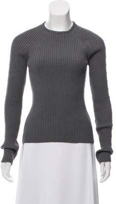 Celine Rib Knit Embellished Sweater