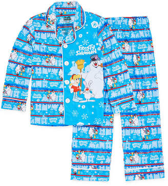 LICENSED PROPERTIES Frosty The Snowman Family Pajama Set-Big Kid